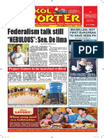 Bikol Reporter November 6 - 12, 2016 Issue