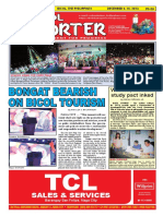 Bikol Reporter December 4 - 10, 2016 Issue