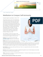 Meditation to Conquer Self-Animosity _ Kundalini