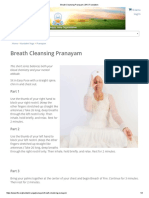Breath Cleansing Pranayam _ Kundalini
