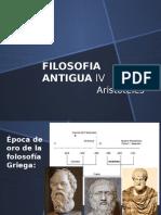 Filosofia Antigua IV Aristoteles