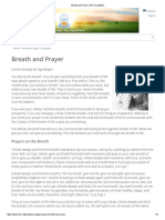 Breath and Prayer _ Kundalini