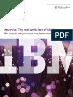 Analytics-The Real World Use of Big Data-IBM