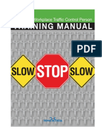Traffic Control Training Manual