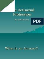 Actuarial Profession 08