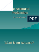 Actuarial Profession 08