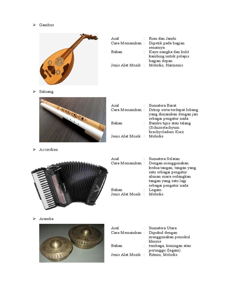 Alat Musik Daerah New 2
