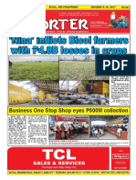 Bikol Reporter January 8 - 14, 2017 Issue