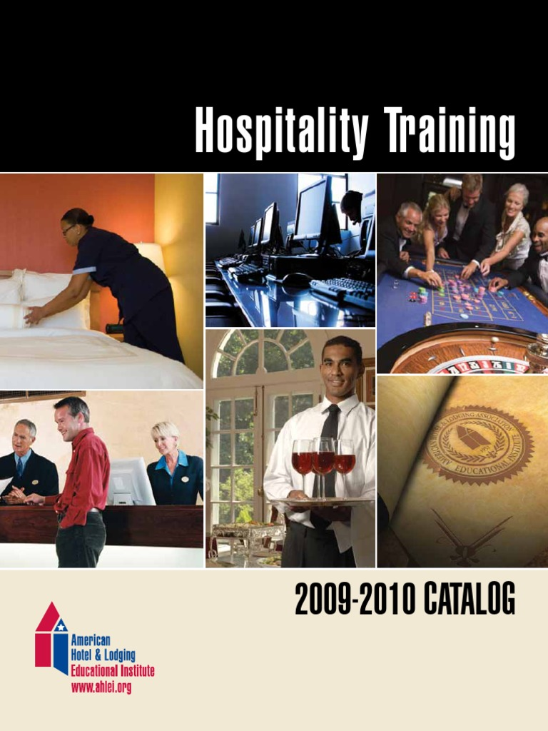 Hospitality Training Catalog | Professional Certification | Test  (Assessment)