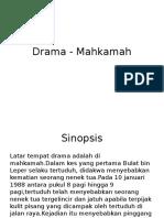 Drama - Mahkamah1