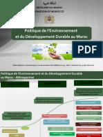 5Politique Env DD Maroc SLV