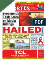 Bikol Reporter January 29 - February 4, 2017 Issue