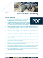JUL 19 KBC Sunrise Mkt Commentary
