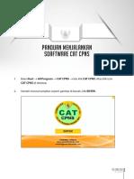 Panduan Menjalankan Software CAT CPNS
