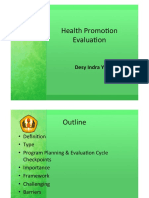Health Promotion Evaluation.ppt
