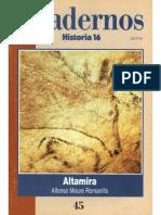 Cuadernos Historia 16, Nº 045 - Altamira