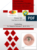 Update on the Treatment of Pterygium