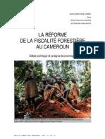 La reforme de la ficalite forestiere au Cameroun