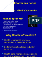 Intro Health Informatics