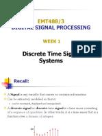 03 - Discrete Time Signals