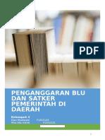 Penganggaran BLU Dan Satker Daerah