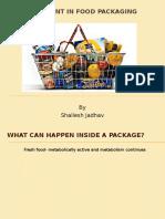 New Development in Food Packaging