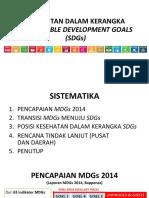 SDGs'