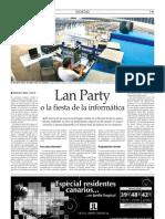Lan Party o la fiesta de la informática
