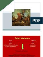Clase Estado Moderno