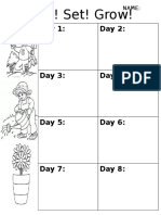 ready  set  grow  worksheet