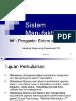 W1-Pengantar Sistem Manufaktur