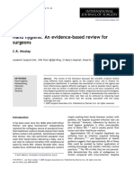 Hand Hygiene an Evidence-based Review for Surgeons