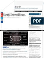 Sexually Transmitted Diseases Every Nigerian Should know About