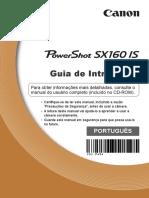 Manual Câmera Canon SX160 IS - Guia Rápido (Português-BR).pdf