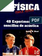 Fisica Para Ninos 49 Experimentos Sencillos de Acustica