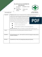 2.3.17.4 Sop Pelaporan Dan Distribusi Informasi