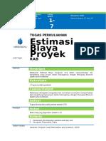Tugas Estimasi Biaya Proyek_Sebelum UTS