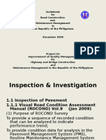 4. Road Inspection and Investigation