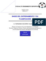 Bases Del Entrenamiento y Su Planificación
