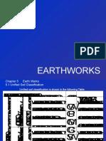 8. Earthworks