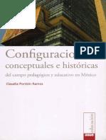 Configuraciones Coneptuales e Historicas Del Campo Educativo en Mexico
