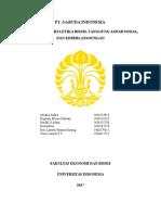 Pengantar Manajemen Stratejik Bab 1 - Analisa PT Garuda