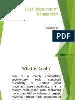 Coal & Peat of Bangladesh