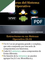 Estructuras Del Sistema Operativo