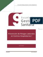 Prevencion de Riesgos Laborales en Centros Hospitalarios I