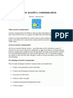 6 Tips for Assertive Communication