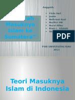 PPT Sejarah Masuknya Islam Ke Sumatera