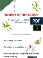 Energy Optimization