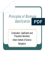 Principles of Biomass Gasification-PJP