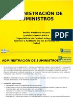 Adm Suministro - Organigrama - Responsabilidades 2